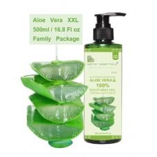 Кондиционер-гель Алоэ вера для волос, кожи лица и тела от Secret Essentials, 99.75% & БИО ЭКСТРАКТ, 500 мл. Для все семьи. Из Германии