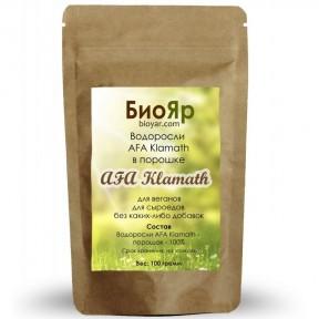 Водоросли AFA в порошке 100г  (содержит витамин B12)