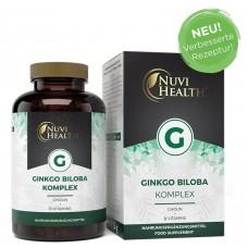 Гинкго билоба комплекс + холин и витамины группы B - ЗАПАС НА 6 МЕСЯЦЕВ Премиумм качество!