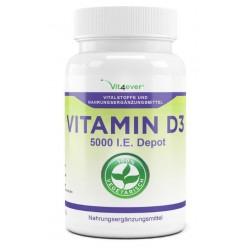 Витамин D3 – 5.000 единиц ХВАТАЕТ НА 5-6 МЕСЯЦЕВ приёма - из Европы