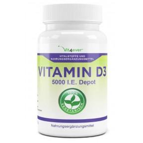 Витамин D3 – 5.000 единиц ХВАТАЕТ НА 1,5 ГОДА приёма - из Европы