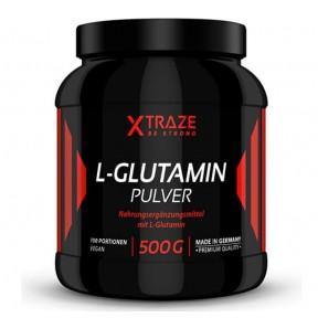 Аминокислота L-глутамин, порошок, для силовых видов спорта, бодибилдинга и фитнеса. НА 4 МЕСЯЦА ЗАПАС. Качество ВЕГАН. Из ГЕРМАНИИ.
