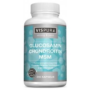 Глюкозамин + хондроитин + МСМ, для здоровья суставов. ЗАПАС НА 8 МЕСЯЦЕВ! Для сухожилий, связок, хрящей, суставов, костей. Уникальный продукт! Из Германии