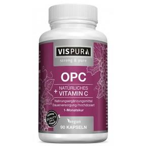 Экстракт виноградных косточек OPC + натуральный витамин С из каму-каму ЗАПАС НА 3 МЕСЯЦА! Антиоксидант с ВЫСОКОЙ дозой! Из Германии