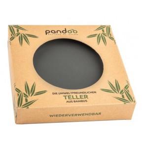 Бамбуковая тарелка, для пикника, 6 шт – без пластика (BPA) Экологически чистые и устойчивые, тарелки сделаны из органически выращенного бамбука. Из Германии