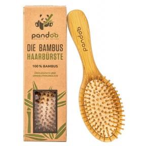 Щетка для волос с натуральной щетиной из 100% натурального бамбука. Подходит для всех типов волос, будь то длинные, толстые, тонкие или вьющиеся волосы. Из Германии