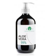 Гель Алоэ вера натуральность 99% - 250 мл из Германии. Содержит 99 процентов алоэ вера и обогащен экстрактом водорослей.