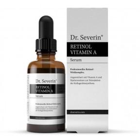 Антивозрастная сыворотка «Др. Северин® Ретинол», с  витамином A, гиалуроновой кислотой, маслом жожоба, способствует производству коллагена из Германии