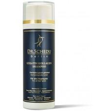Шампунь для мытья волос и интенсивной подпитки, с минералами Мертвого моря, кератином и коллагеном. 100% с органическими ингредиентами. Изготовлено в Германии