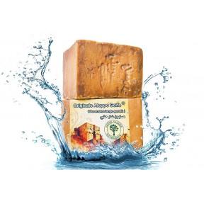 Сирийское мыло «Алеппо»  70/30% с лавровым маслом / оливковым маслом - мыло для мытья волос / мыло для душа значение PH 8-Detox ручная работа! Из Германии