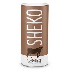 Коктейль для похудения SHEKO. Шоколадный протеиновый порошок. 25 порций. Идеально подходит как протеиновый коктейль, без глютена, вегетарианский. Из Германии