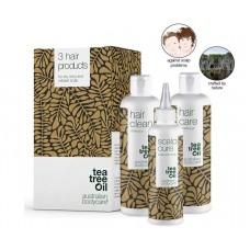 Уникальный набор по уходу за волосами и кожей головы. Пакет включает 3 инновационных продукта против перхоти и сухой кожи головы. Из Германии