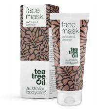 Уникальная маска для лица, с натуральным маслом чайного дерева, против прыщей и нечистой кожи. Уход за лицом для всех типов кожи. Из Германии