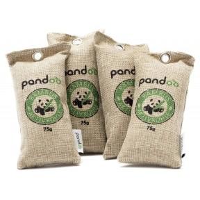 Освежитель и очиститель воздуха из натурального бамбука, с активированным углем. Фильтрует неприятные запахи, бактерии, аллергены и загрязняющие вещества. Из Германии