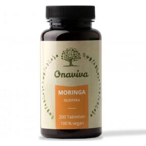 Moringa Oleifera из органического порошка листьев, ВЫСОКАЯ ДОЗА 1500 мг, ЗАПАС НА 7 МЕСЯЦЕВ. Без нежелательных добавок! Из Германии