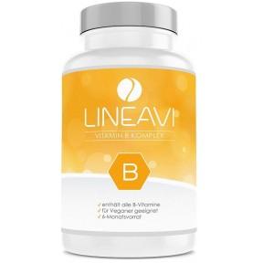 Комплекс витаминов группы В, с высокой дозой в одной таблетке, витамин B1, B2, B3, B5, B6, B7, B9, B12, без глютена, ЗАПАС НА 6 МЕСЯЦЕВ. Из Германи