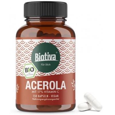 Витамин С из Био ацеролы – барбадосская вишня. Без нежелательных добавок! ЗАПАС НА 5 МЕСЯЦЕВ! Природный витамин С. Из Германии