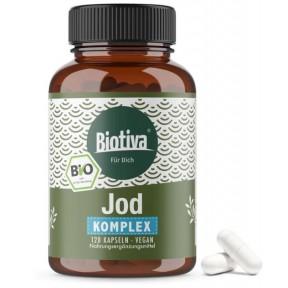 Био комплекс Йод  – Для щитовидной железы, нервной системы, здоровья кожи, контроля веса, сахара в крови. ЗАПАС НА 4-5 МЕСЯЦЕВ! Из Германии