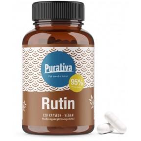 Рутин (рутозид) высокая доза. Улучшает кровообращение, уменьшает образование тромбов, проницаемость капилляров, против воспалений, антиоксидант. НА 5-6 МЕСЯЦЕВ! Из Германии
