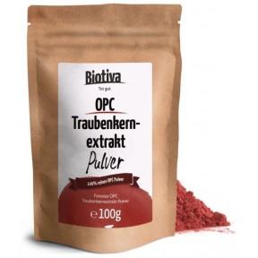 OPC экстракт виноградных косточек, порошок 100 г. Натуральный антиоксидант. Укрепляет сосуды, сердце, помогает снять воспаления. ЗАПАС НА 3-4 МЕСЯЦЕВ! Из Германии