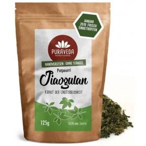 Джиаогулан, Цзяогулан, Гиностемма пятилистная, растительный чай 125 г Омолаживает организм, даёт бодрость, замедляет старение. ЗАПАС НА 2-3 МЕСЯЦА! Из Германии