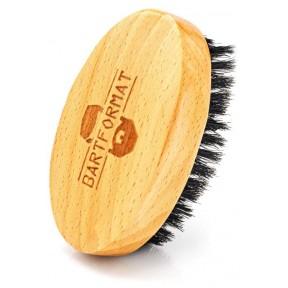 Щетка из бука для ухода за бородой, с щетиной кабана. Можно применять с маслом для бороды. Идеальный подарок! Очень качественный продукт! из Германии