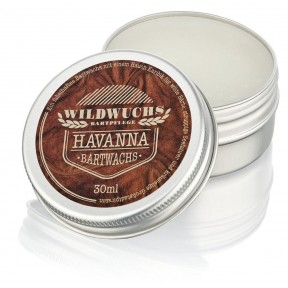 Воск «Гаванна» для ухода за пышной бородой и усами. Натуральный продукт. Отличный подарок для мужчин! ЗАПАС НА 5-6 МЕСЯЦЕВ! Из Германии
