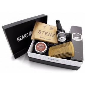 Лучший набор для ухода за бородой от известных брендов в оригинальной коробке. Для ухоженных и здоровых волос бороды. ЗАПАС НА 5-6 МЕСЯЦЕВ! Из Германии