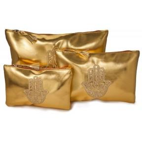 Набор из 3 косметических сумочек Beauty Set, для дам и мужчин. Многофункциональные сумки восточного дизайна, идеально подходят для путешествий и очень практичны. Из Германии