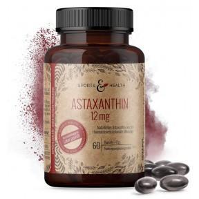 Астаксантин 12 мг на капсулу, в высокой дозе. Мощный антиоксидант. ЗАПАС НА 4-5 МЕСЯЦЕВ! Гелевые капсулы. Высокая дозировка и 100% ЧИСТОТА ПРОДУКТА. Из Германии.