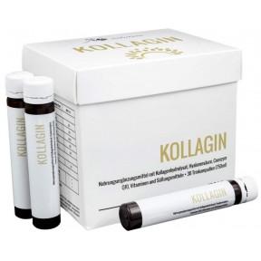 Комплекс «Коллаген» с Q10, гиалуроновой кислотой, цинком + витамины, для красивой здоровой кожи. 30 питьевых ампул. 100% ЧИСТОТА ПРОДУКТА. Из Германии