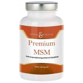 МСМ капсулы, с высокой дозой OPTI MSM. Органическая сера. ЗАПАС НА 7-8 МЕСЯЦЕВ! Из Германии. Для соединительных тканей, гормонов, ферментов, белков (коллаген, кератин)