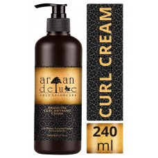 Аргановый крем для завивки локонов. 240 мл. Свежевыжатое масло арганы из Марокко дарит вашим волосам необходимую влагу, делая их мягкими и эластичными. Из Германии
