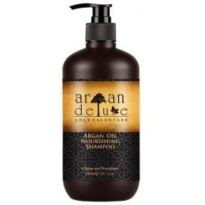 Профессиональный Шампунь Argan Deluxe, с аргановым маслом для гладкости и блеска. 300 мл. Ваши волосы с первого применения становятся более мягкими и гладкими. Из Германии