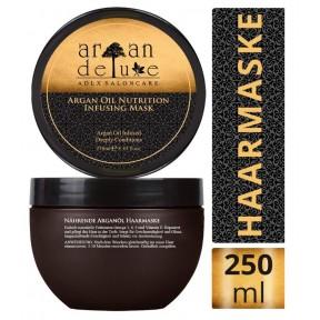 Профессиональная маска для волос с аргановым маслом. 250 мл. Для интенсивного лечения волос, с оригинальным марокканским маслом. Содержит витамин Е и омегу 3-6-9. Из Германии