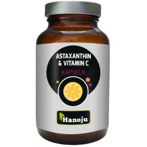 Астаксантин 135 мг + Витамин С 500 мг. Запас на 2 месяца, имеет антиоксидантные свойства, регенерирует клетки, снимает воспалительные процессы, укрепляет сосуды и суставы. Из Германии