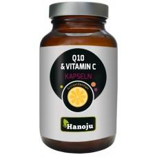 Коэнзим Q10 250 мг + Витамин С 250 мг, запас на 2 МЕСЯЦА, антивозрастной фермент для омоложения кожи, антиоксидант. Улучшает выработку энергии в тканях сердечной мышцы. Из Германии