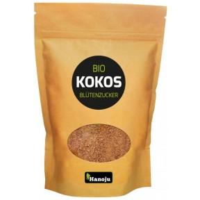Органический кокосовый сахар. 250 г. Состоит на 80% из сахарозы и 20% фруктозы и глюкозы. 54 гликемический индекс. Содержит глютамин, участвует в синтезе белка. Из Германии
