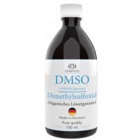 Димексид - ДМСО 100 мл 99,9% чистоты! (с сертификатом), темная бутылка. СДЕЛАНО В ГЕРМАНИИ. Стандарт ISO 13485. Для применения внутрь. Доставка напрямую из Германии