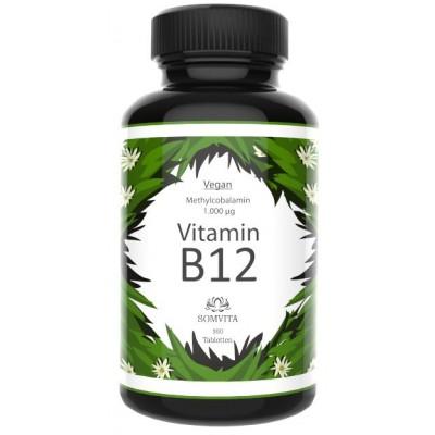 Витамин B12, запас на 4 МЕСЯЦА! 1000 мкг с био-активным метилом. Лабораторно проверено, веган, изготовленный в Германии. Восстанавливает нервы, работу мозга, даёт энергию. Из Германии
