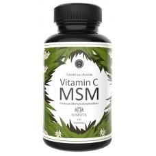 МСМ + натуральный витамин С из экстракта ацеролы, для здоровья волос, ногтей, укрепляет суставы. Запас на 3-4 МЕСЯЦА. 100% ЧИСТОТА ПРОДУКТА. Из Германии.