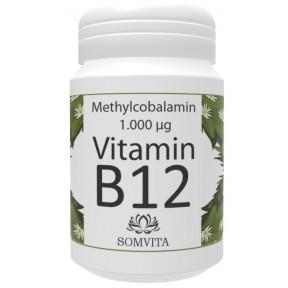 Витамин B12 - метилкобаламин (активная форма). ЗАПАС НА 30 ДНЕЙ, 100% чистота продукта. Веганское качество. Укрепляет нервную систему, иммунитет, нервные клетки Из Германии.