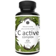 Натуральный витамин С – экстракт ацеролы + экстракт шиповника. Высоко биодоступный, содержит биофлавоноиды, лабораторно проверенный, веганский. Из ГЕРМАНИИ