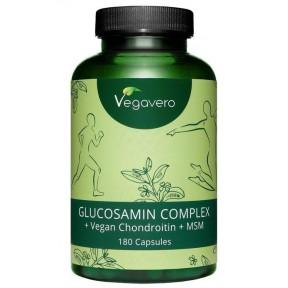 Глюкозамин комплекс, запас на 3-4 МЕСЯЦА, веганский, для поддержки суставов, хрящей, связок. 99,9% чистоты, из ферментации плюс витамин С. Натуральный продукт! ИЗ ГЕРМАНИИ