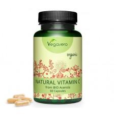 Натуральный витамин С из ягоды ацерола. Запас на 2-3 месяца, веганский, укрепляет иммунную систему, улучшает обмен веществ, 100% чистота продукта, изготовлено в Германии