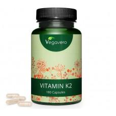 НАТУРАЛЬНЫЙ витамин K2, запас на 6-7 МЕСЯЦЕВ, растительный, 100% чистота продукта, без нежелательных добавок, 99,7% All-транс, веганский, сырье из Италии, производство ГЕРМАНИИ