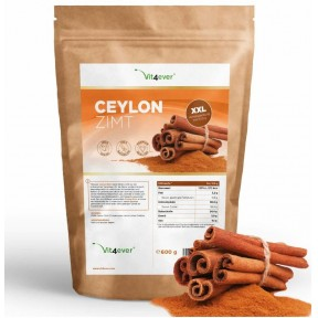 Цейлонская корица порошок 600 г, 100% цейлонская корица с мадагаскара, против воспалений, натуральный антибиотик, чистый продукт, запас на 5-6 месяцев, из Германии