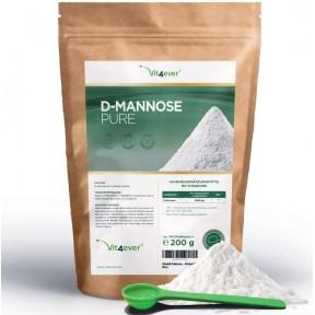 Порошок D - маннозы - 200 г, запас на 2-3 месяца, улучшает мочеполовую систему, выводит бактерии, борется с инфекцией, 100% чистота, без добавок, ИЗ ГЕРМАНИИ