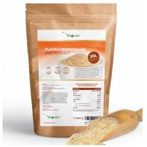 Шелуха подорожника псиллиум - 1100 грамм, чистота 99%, без добавок, растительный продукт, улучшает пищеварение, чистит от токсинов, помогает сбросить вес, ИЗ ГЕРМАНИИ