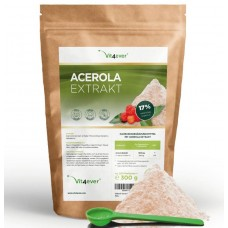 Натуральный витамин С, порошок из ацеролы, запас на 8-9 МЕСЯЦЕВ, 100% биоактивный продукт, антиоксидант, поддерживает иммунитет, ИЗ ГЕРМАНИИ